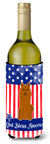 Buy this Patriotic USA Karelian Bear Dog Wine Bottle Beverge Insulator Hugger
