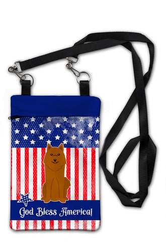 Buy this Patriotic USA Karelian Bear Dog Crossbody Bag Purse BB3017OBDY