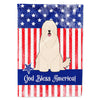 Buy this Patriotic USA South Russian Sheepdog Flag Garden Size
