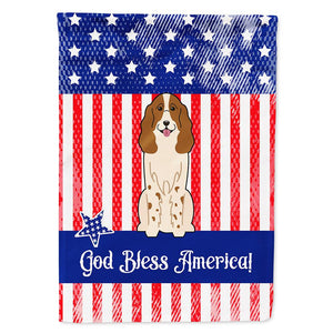 Buy this Patriotic USA Russian Spaniel Flag Garden Size