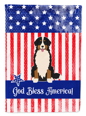 Buy this Patriotic USA Bernese Mountain Dog Flag Garden Size BB3031GF