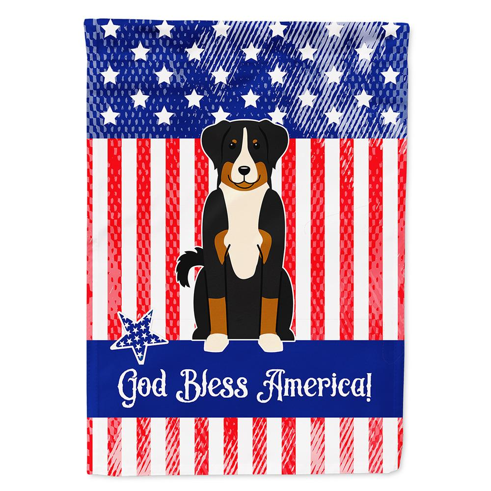 Buy this Patriotic USA Appenzeller Sennenhund Flag Garden Size