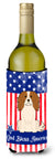 Buy this Patriotic USA Cavalier Spaniel Wine Bottle Beverge Insulator Hugger