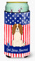 Buy this Patriotic USA Cavalier Spaniel Tall Boy Beverage Insulator Hugger