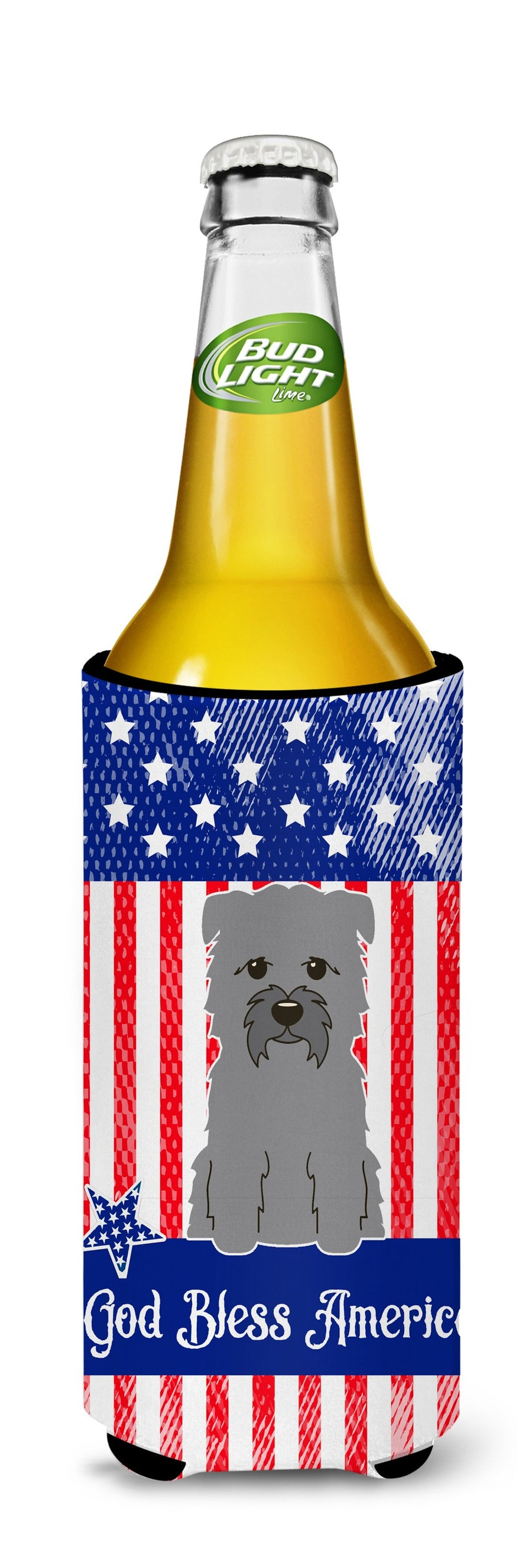 Buy this Patriotic USA Glen of Imal Grey Michelob Ultra Hugger for slim cans BB3054MUK