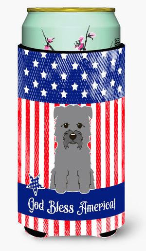 Buy this Patriotic USA Glen of Imal Grey Tall Boy Beverage Insulator Hugger BB3054TBC