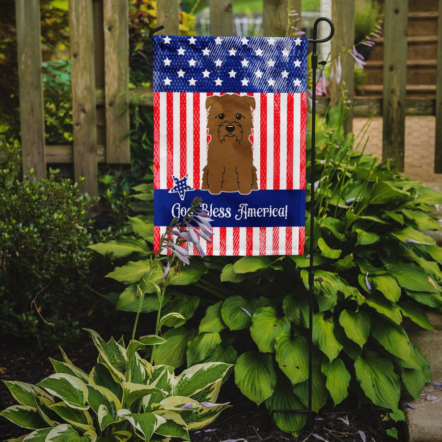 Buy this Patriotic USA Glen of Imal Tan Flag Garden Size BB3055GF