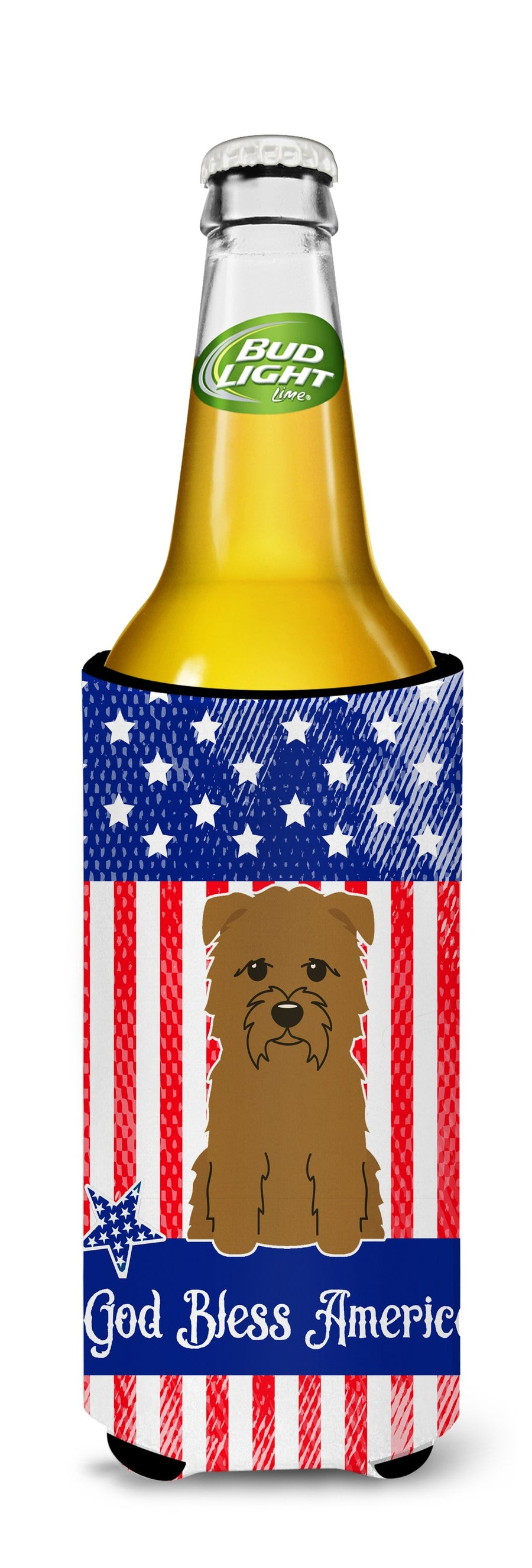 Buy this Patriotic USA Glen of Imal Tan Michelob Ultra Hugger for slim cans BB3055MUK