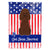 Buy this Patriotic USA Irish Water Spaniel Flag Canvas House Size BB3058CHF