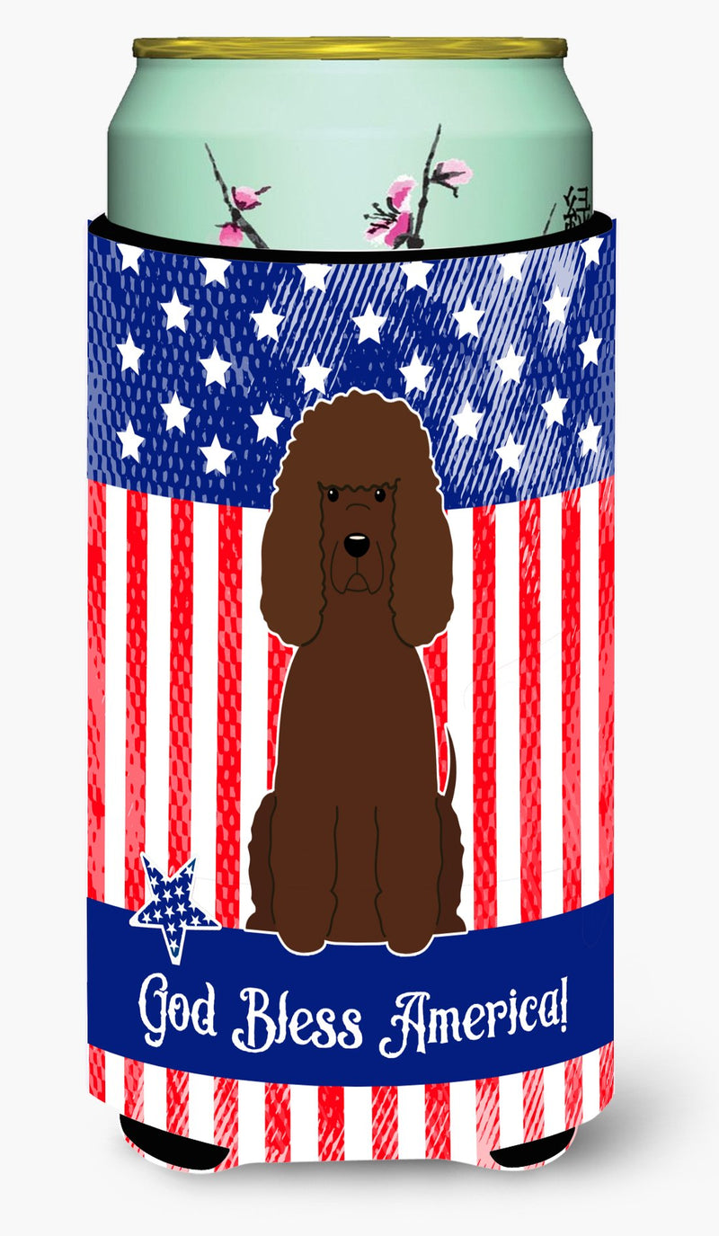 Buy this Patriotic USA Irish Water Spaniel Tall Boy Beverage Insulator Hugger