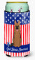 Buy this Patriotic USA German Shepherd Tall Boy Beverage Insulator Hugger