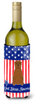 Buy this Patriotic USA Dogue de Bourdeaux Wine Bottle Beverge Insulator Hugger
