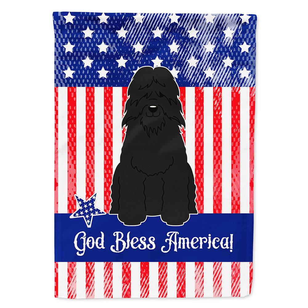 Patriotic USA Bouvier des Flandres Flag Garden Size by Caroline's Treasures