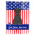 Buy this Patriotic USA Briard Black Flag Canvas House Size BB3076CHF
