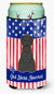 Buy this Patriotic USA Briard Black Tall Boy Beverage Insulator Hugger BB3076TBC