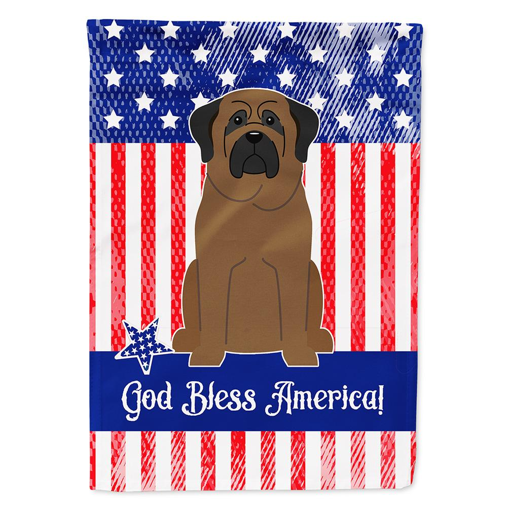 Buy this Patriotic USA Bullmastiff Flag Garden Size