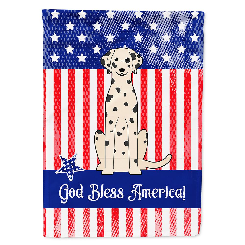 Buy this Patriotic USA Dalmatian Flag Garden Size