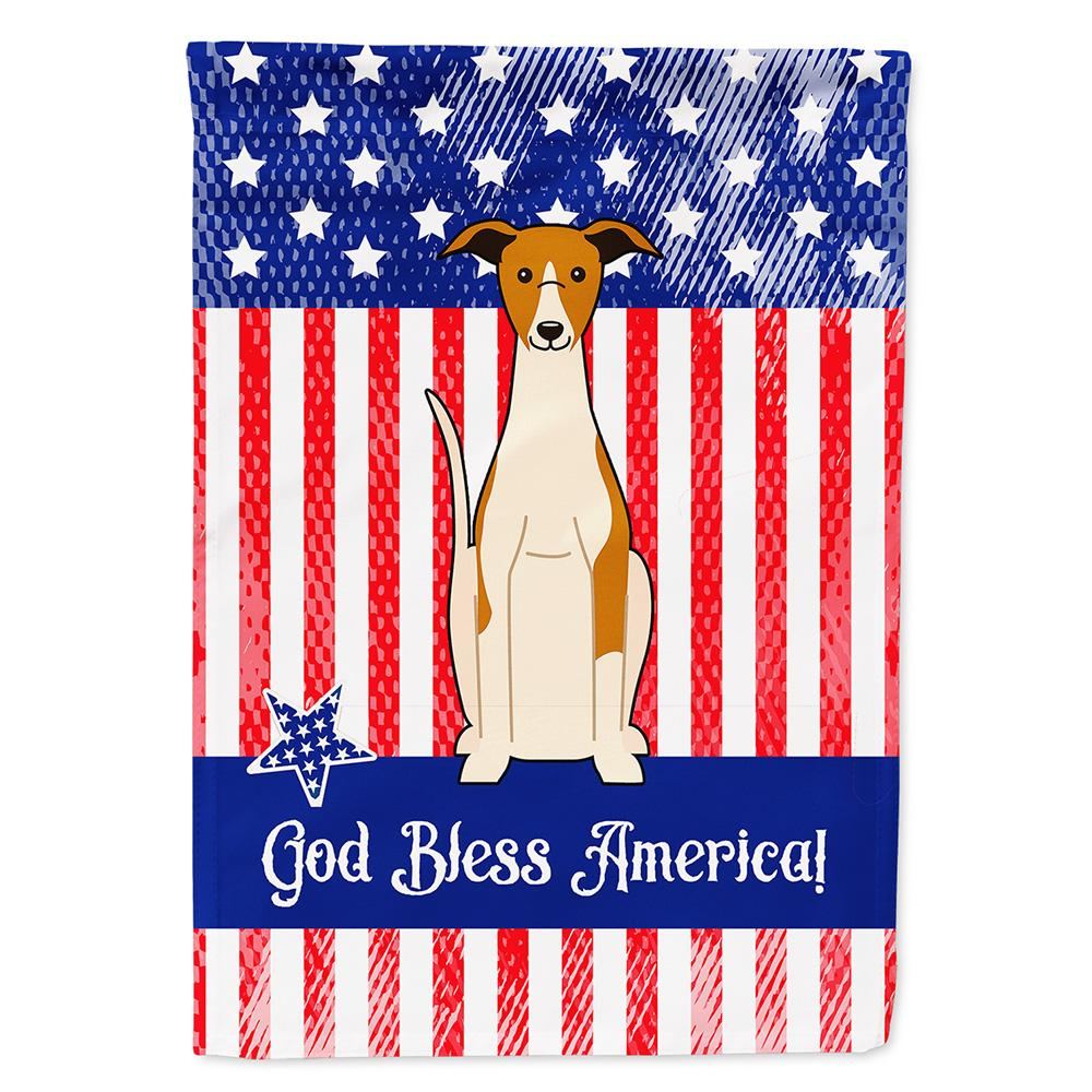 Buy this Patriotic USA Whippet Flag Garden Size BB3094GF