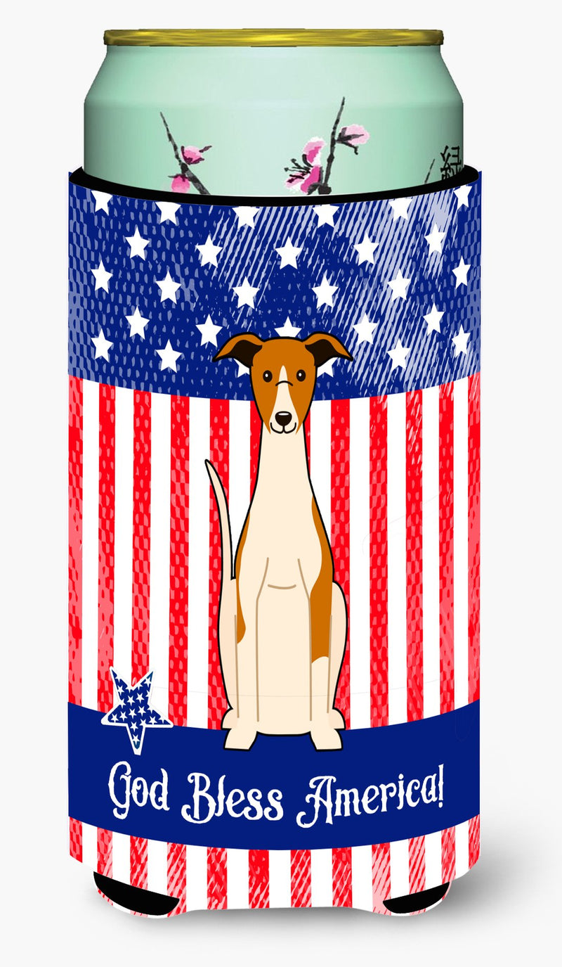 Buy this Patriotic USA Whippet Tall Boy Beverage Insulator Hugger