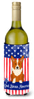 Buy this Patriotic USA Corgi Wine Bottle Beverge Insulator Hugger