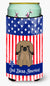 Buy this Patriotic USA Pekingnese Tan Tall Boy Beverage Insulator Hugger