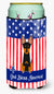 Buy this Patriotic USA English Toy Terrier Tall Boy Beverage Insulator Hugger