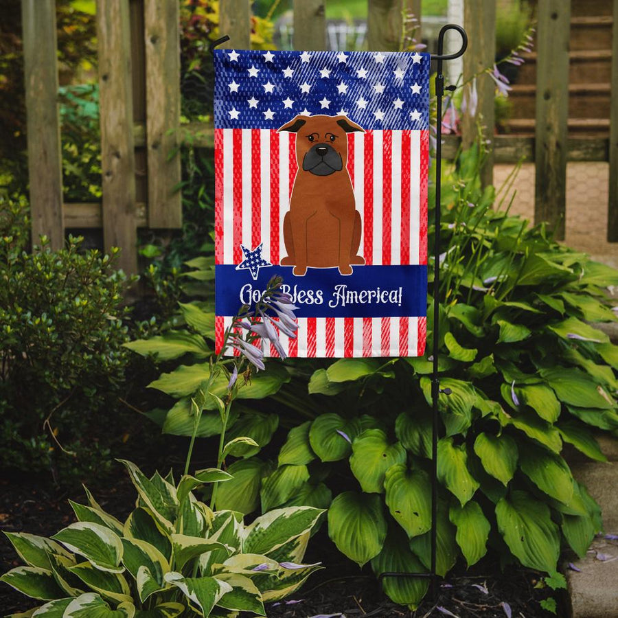 Buy this Patriotic USA Chinese Chongqing Dog Flag Garden Size