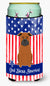 Buy this Patriotic USA Chinese Chongqing Dog Tall Boy Beverage Insulator Hugger