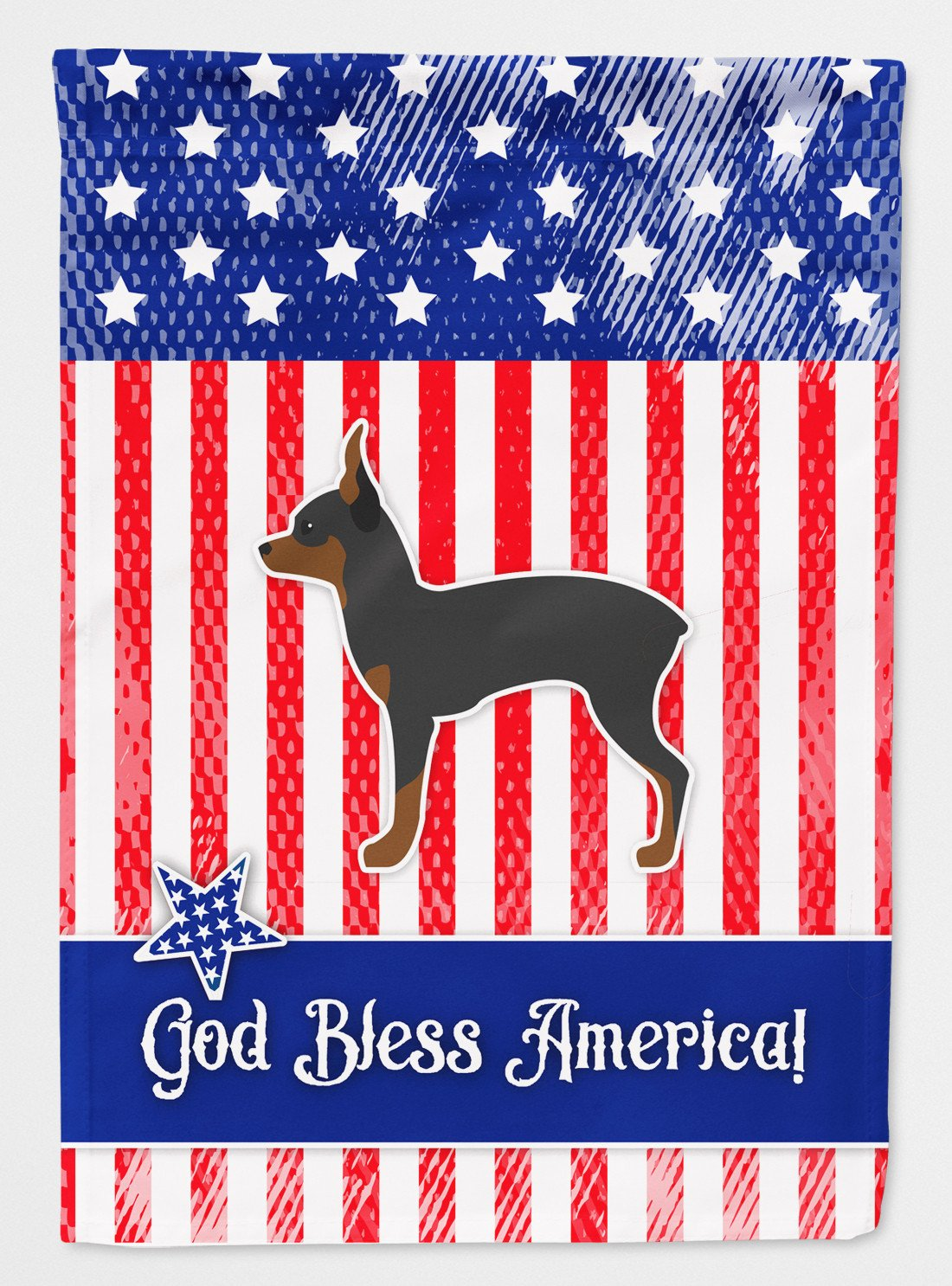 Buy this USA Patriotic Toy Fox Terrier Flag Garden Size BB3287GF