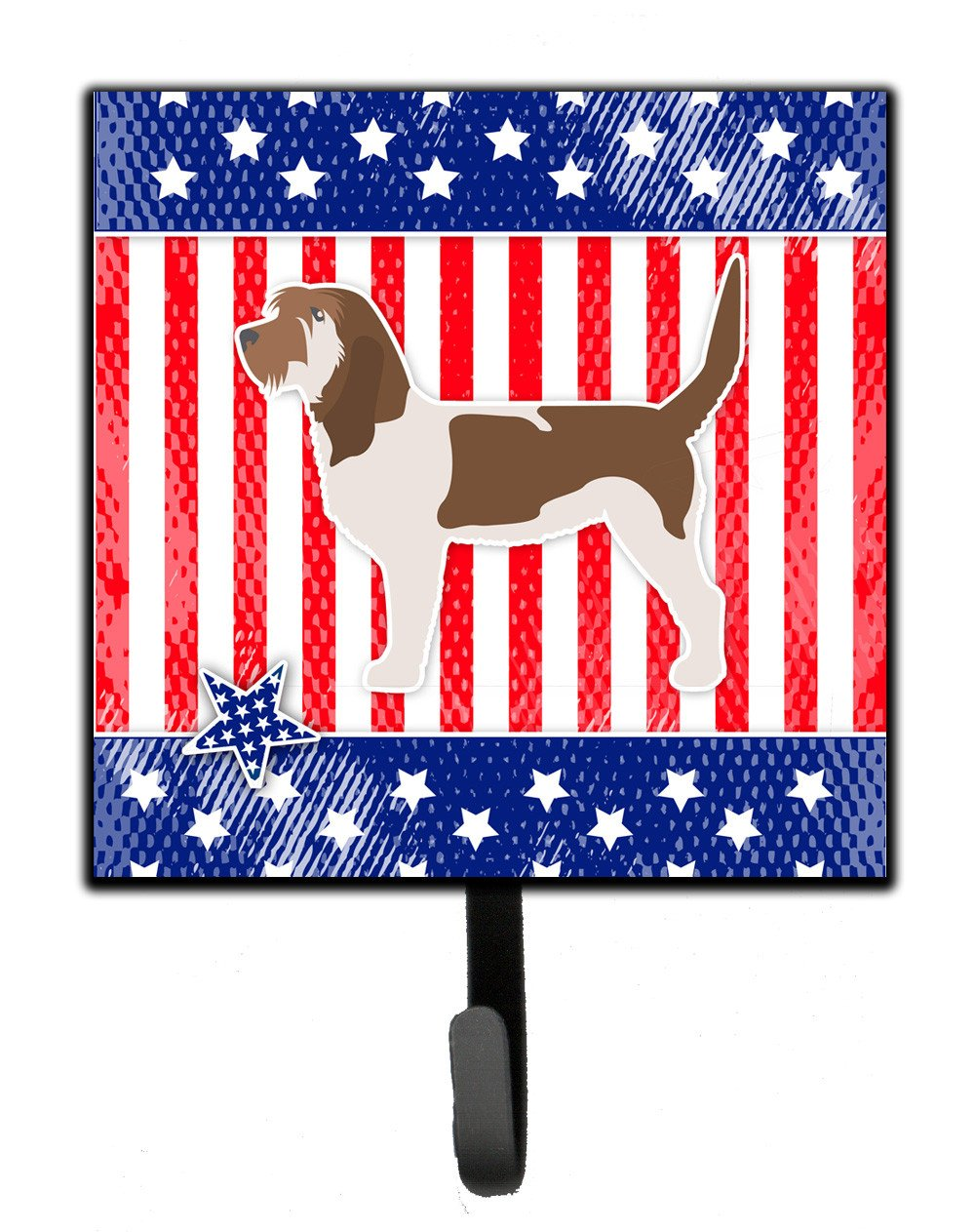 USA Patriotic Grand Basset Griffon Vendeen Leash or Key Holder BB3290SH4 by Caroline's Treasures