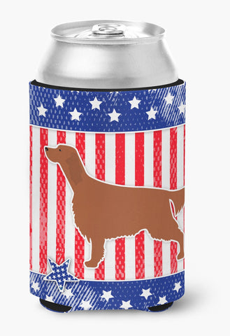 Buy this IUSA Patriotic rish Setter Can or Bottle Hugger BB3293CC