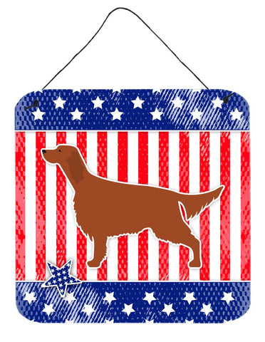 Buy this IUSA Patriotic rish Setter Wall or Door Hanging Prints BB3293DS66