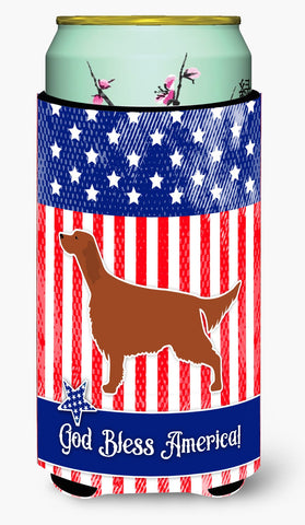 Buy this IUSA Patriotic rish Setter Tall Boy Beverage Insulator Hugger BB3293TBC