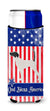 USA Patriotic English Pointer Michelob Ultra Hugger for slim cans BB3295MUK by Caroline's Treasures