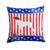 USA Patriotic English Pointer Fabric Decorative Pillow BB3295PW1414 by Caroline's Treasures
