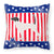 USA Patriotic English Pointer Fabric Decorative Pillow BB3295PW1818 by Caroline's Treasures