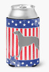 USA Patriotic Scottish Deerhound Can or Bottle Hugger BB3296CC by Caroline's Treasures