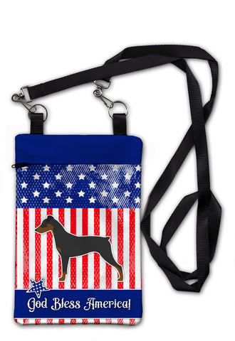 Buy this USA Patriotic German Pinscher Crossbody Bag Purse BB3313OBDY