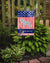 USA Patriotic Spanish Water Dog Flag Garden Size BB3315GF by Caroline's Treasures