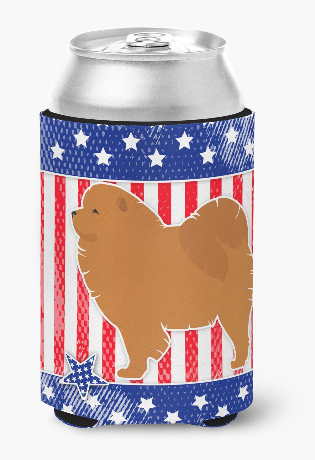 USA Patriotic Chow Chow Can or Bottle Hugger BB3351CC by Caroline's Treasures