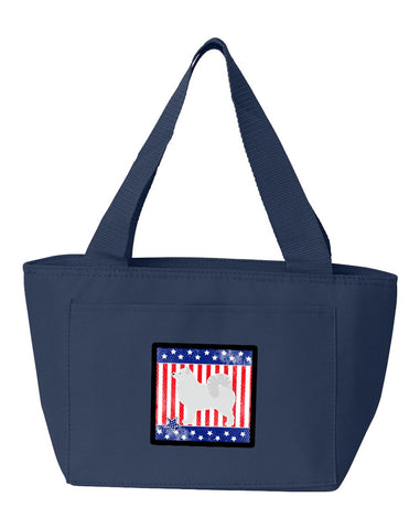 Buy this USA Patriotic Samoyed Lunch Bag BB3359NA-8808