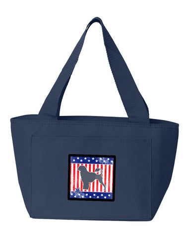Buy this USA Patriotic Portuguese Water Dog Lunch Bag BB3368NA-8808
