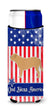 USA Patriotic Dogue de Bordeaux Michelob Ultra Hugger for slim cans BB3370MUK by Caroline's Treasures