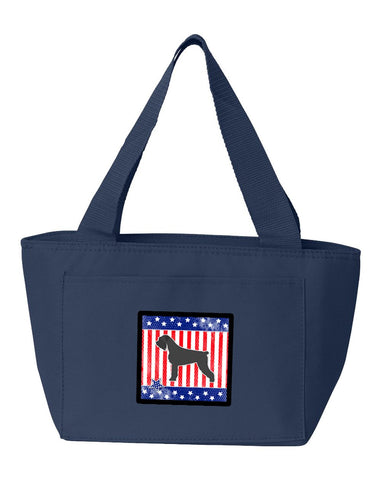 Buy this USA Patriotic Giant Schnauzer Lunch Bag BB3373NA-8808
