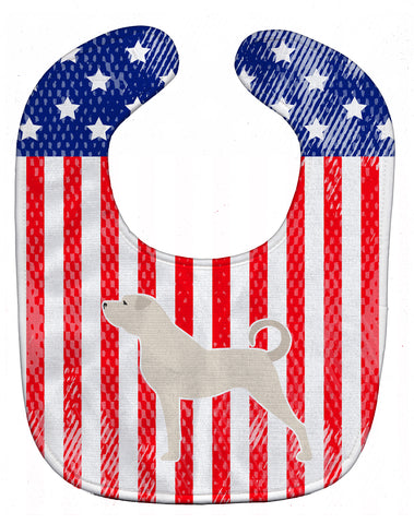 Buy this USA Patriotic Anatolian Shepherd Baby Bib BB3377BIB