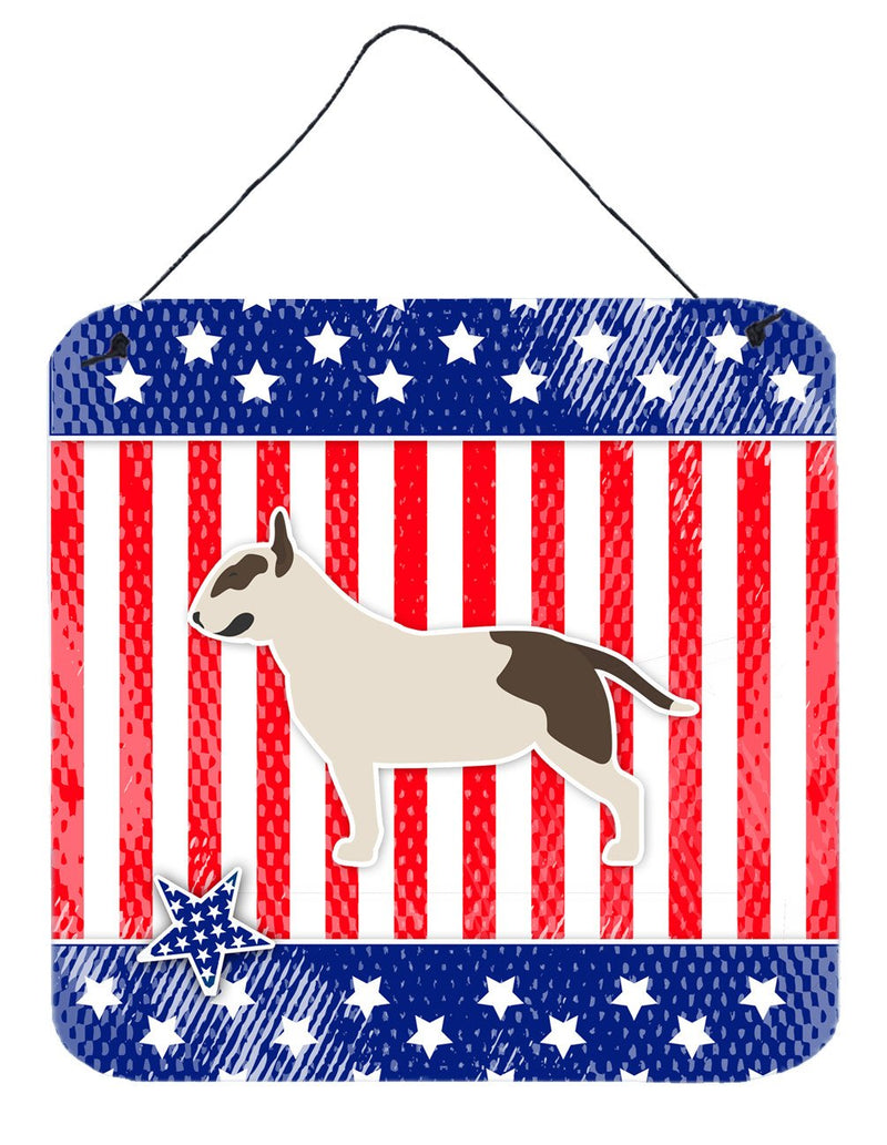 Buy this USA Patriotic Bull Terrier Wall or Door Hanging Prints BB3378DS66