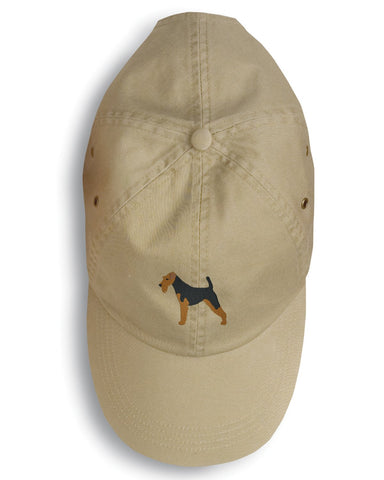 Buy this Welsh Terrier Embroidered Baseball Cap BB3385BU-156