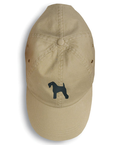 Buy this Kerry Blue Terrier Embroidered Baseball Cap BB3392BU-156