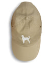 Afghan Hound Embroidered Baseball Cap BB3406BU-156 by Caroline's Treasures