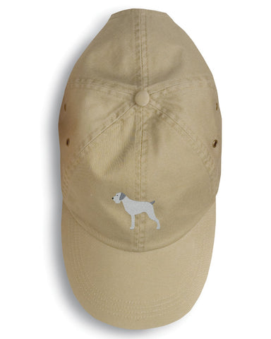 Buy this German Wirehaired Pointer Embroidered Baseball Cap BB3411BU-156